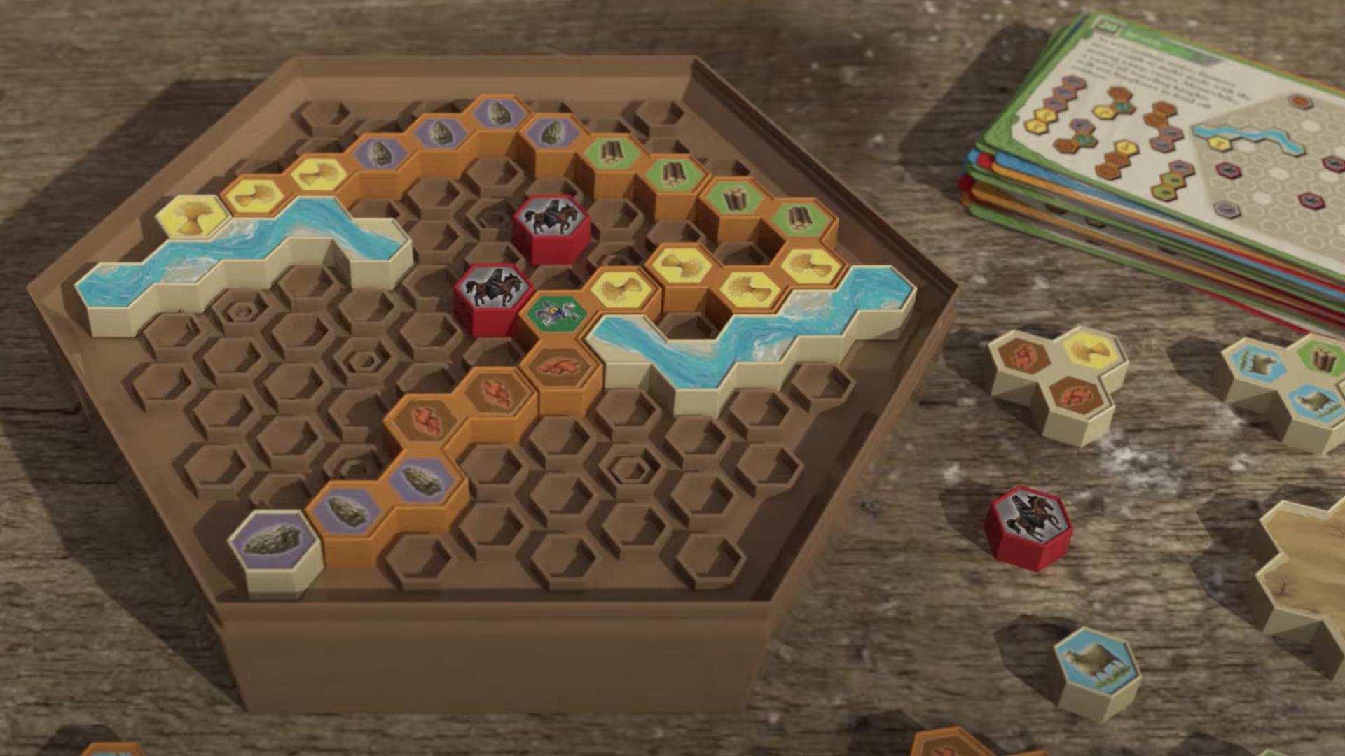 Catan: Logic Puzzle gameplay