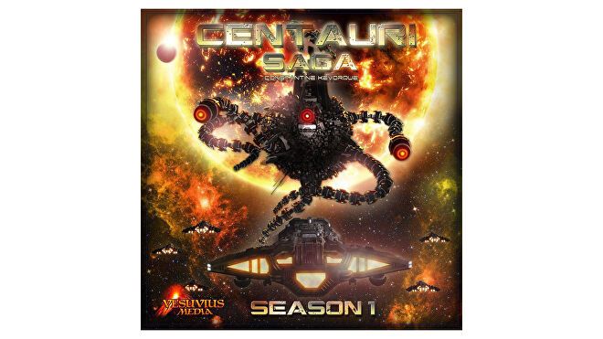 Centauri Saga: Abandoned expansion legacy board game box