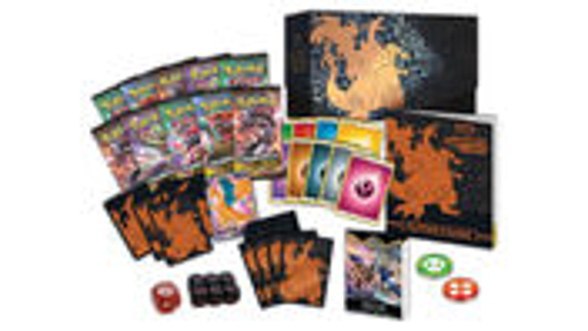 Champion's Path Pokemon Trading Card Game Elite Layout