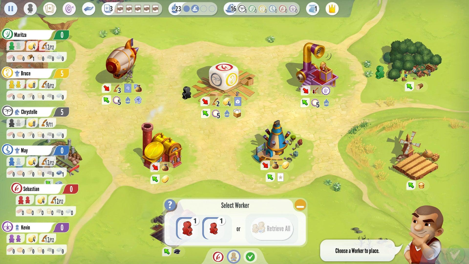 Charterstone digital version screenshot