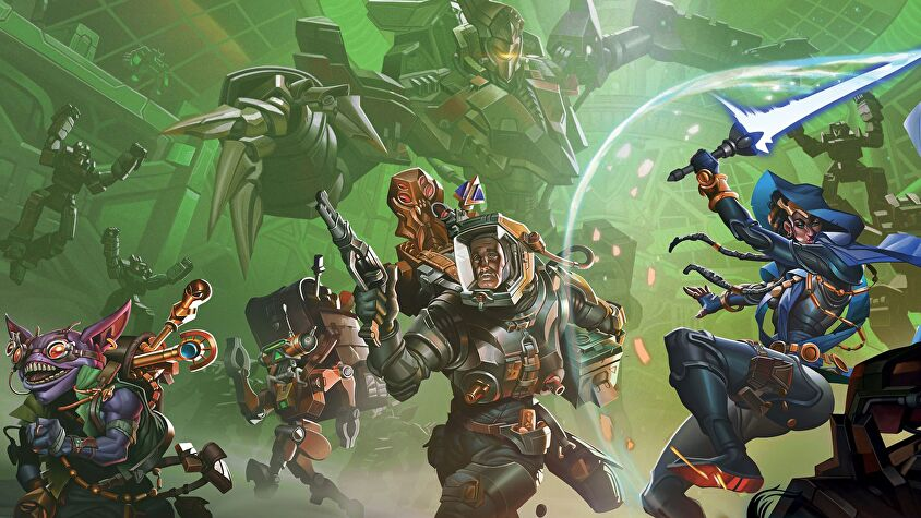 Clank! In! Space! artwork