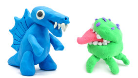 Creatures made from clay