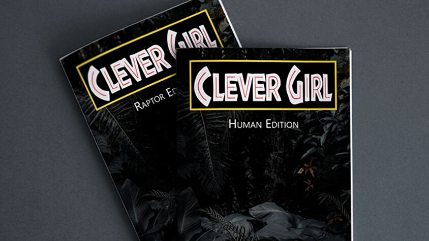Clever Girl RPG books