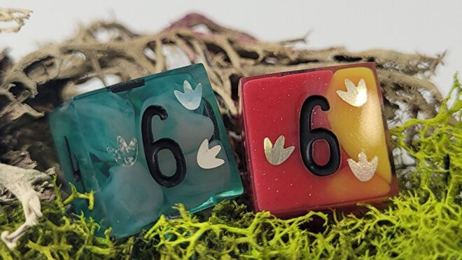 Clever Girl RPG dice