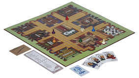 Clue board game layout 1