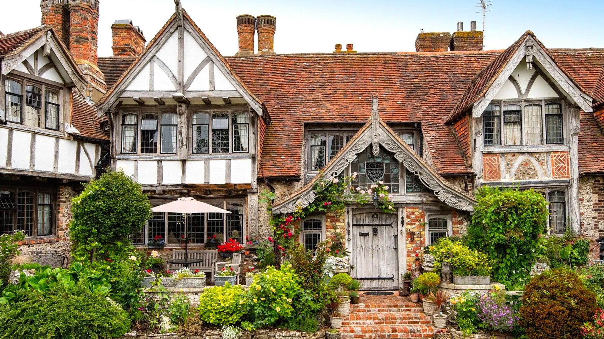 Tudor Close, the real-life inspiration for Cluedo