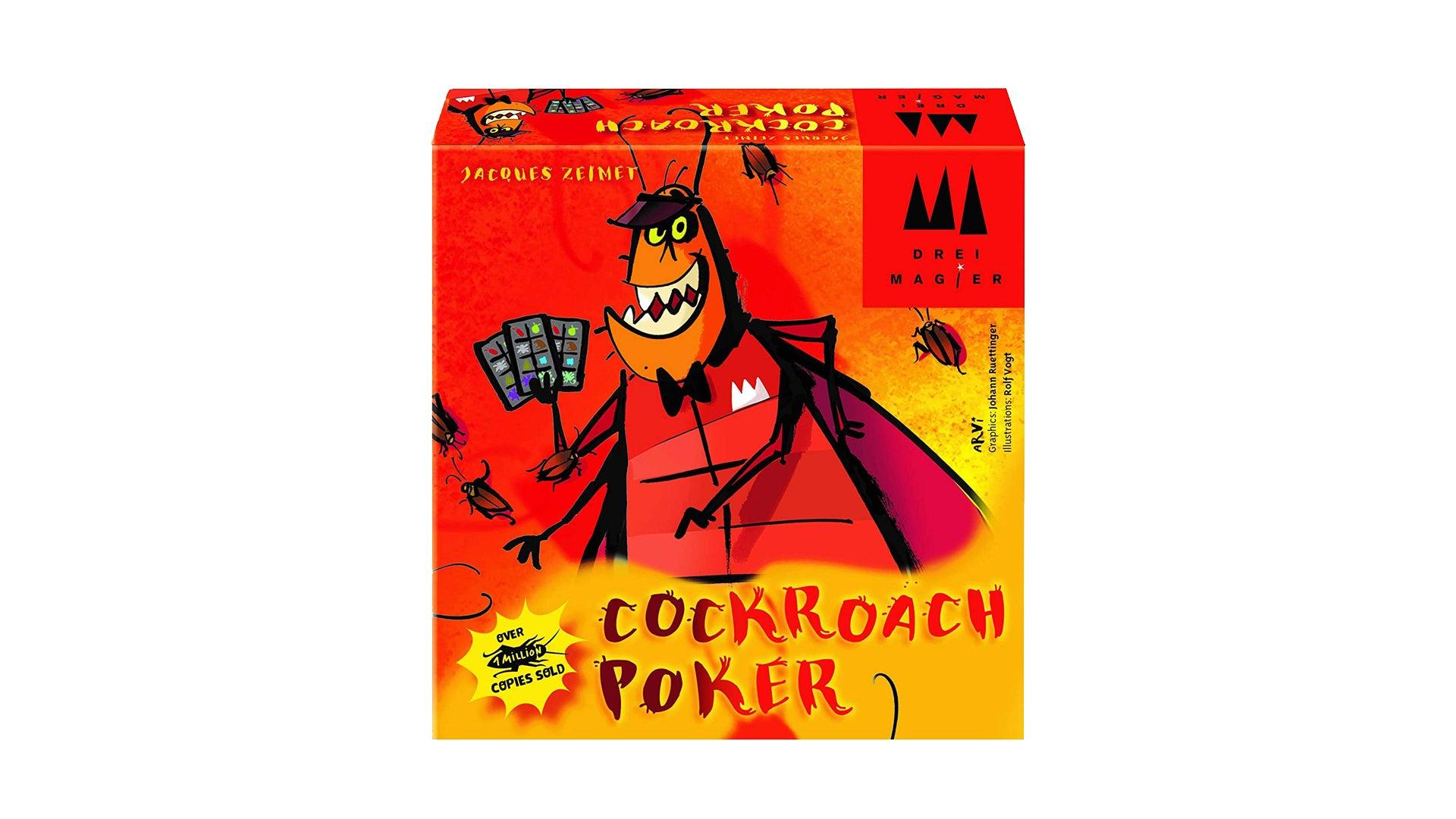 Cockroach Poker board game box