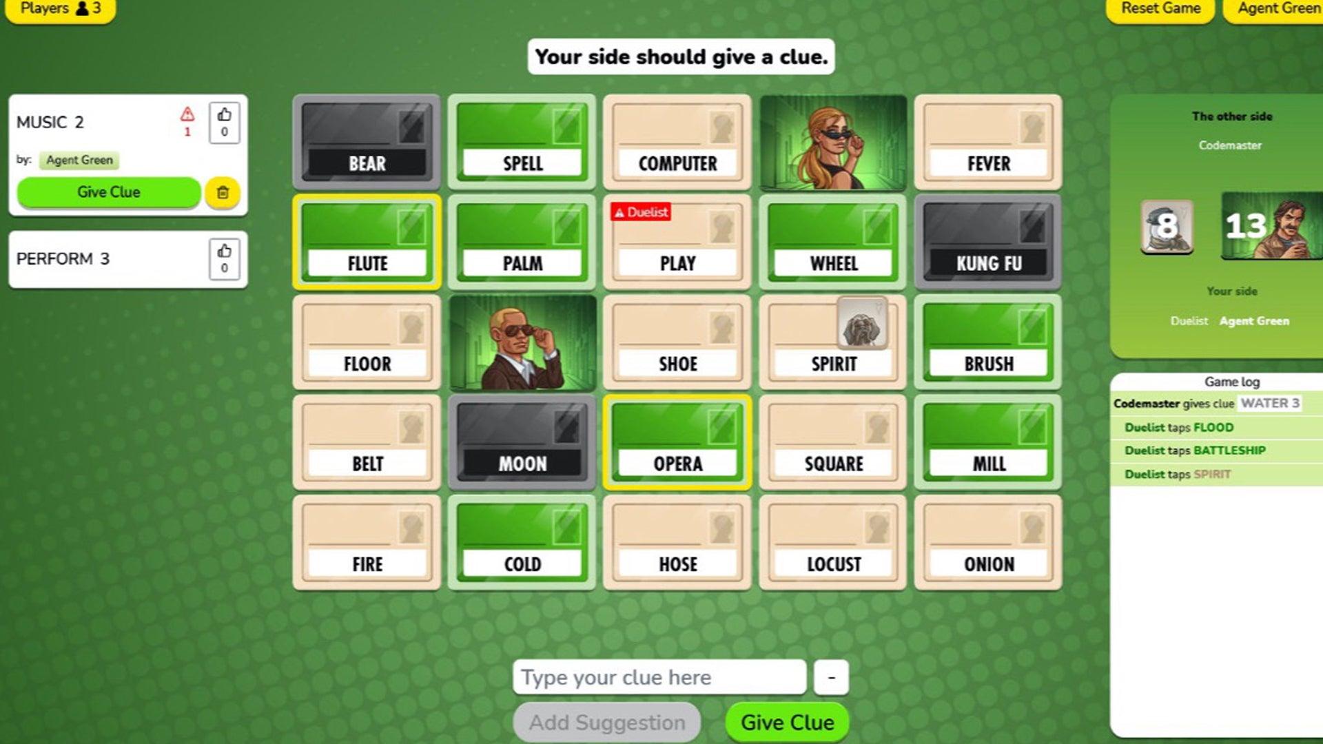 Codenames: Duel online screenshot 2