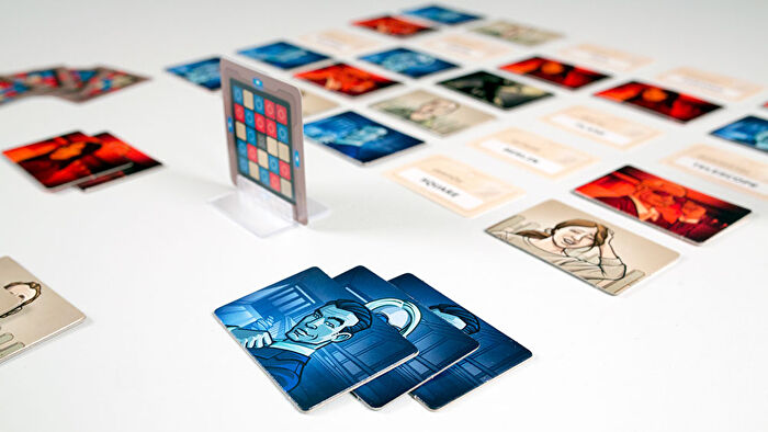 Codenames party board game gameplay layout