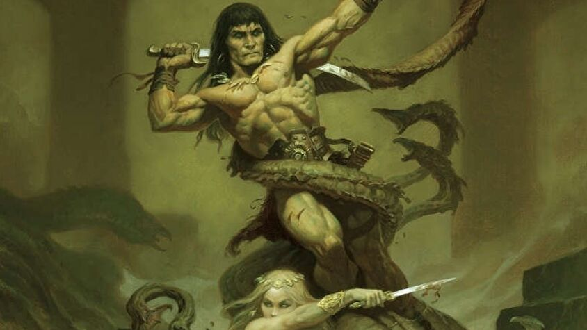 Conan RPG cover artwork