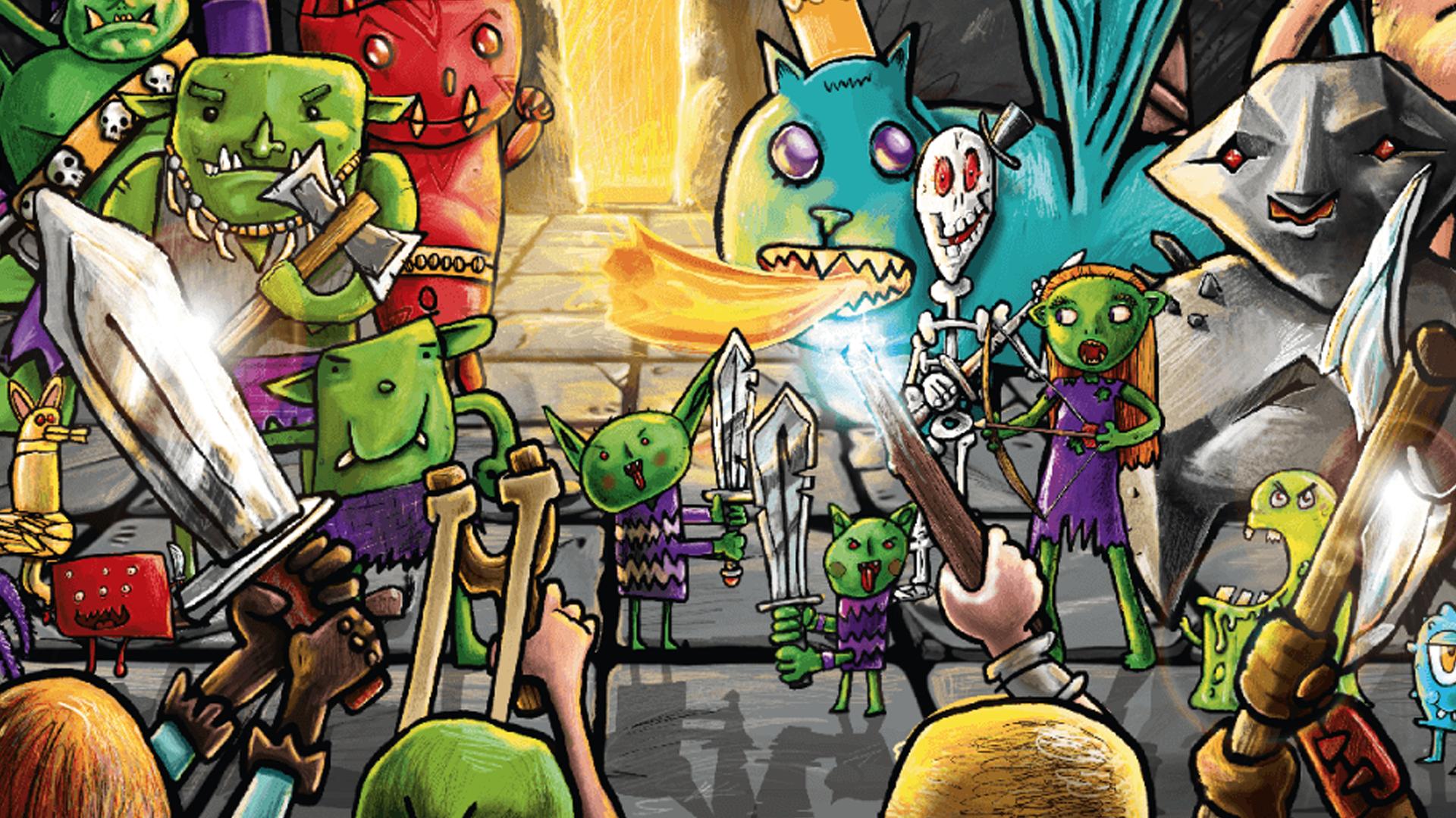 Coraquest board game artwork