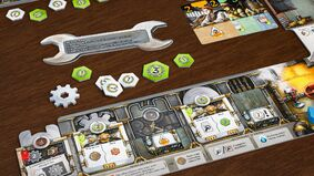 Image for Hammer out a winning strategy in chrome and ironclad board game Corrosion