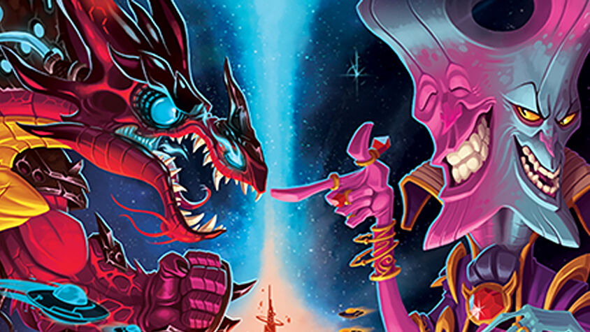 Cosmic Encounter Duel board game artwork
