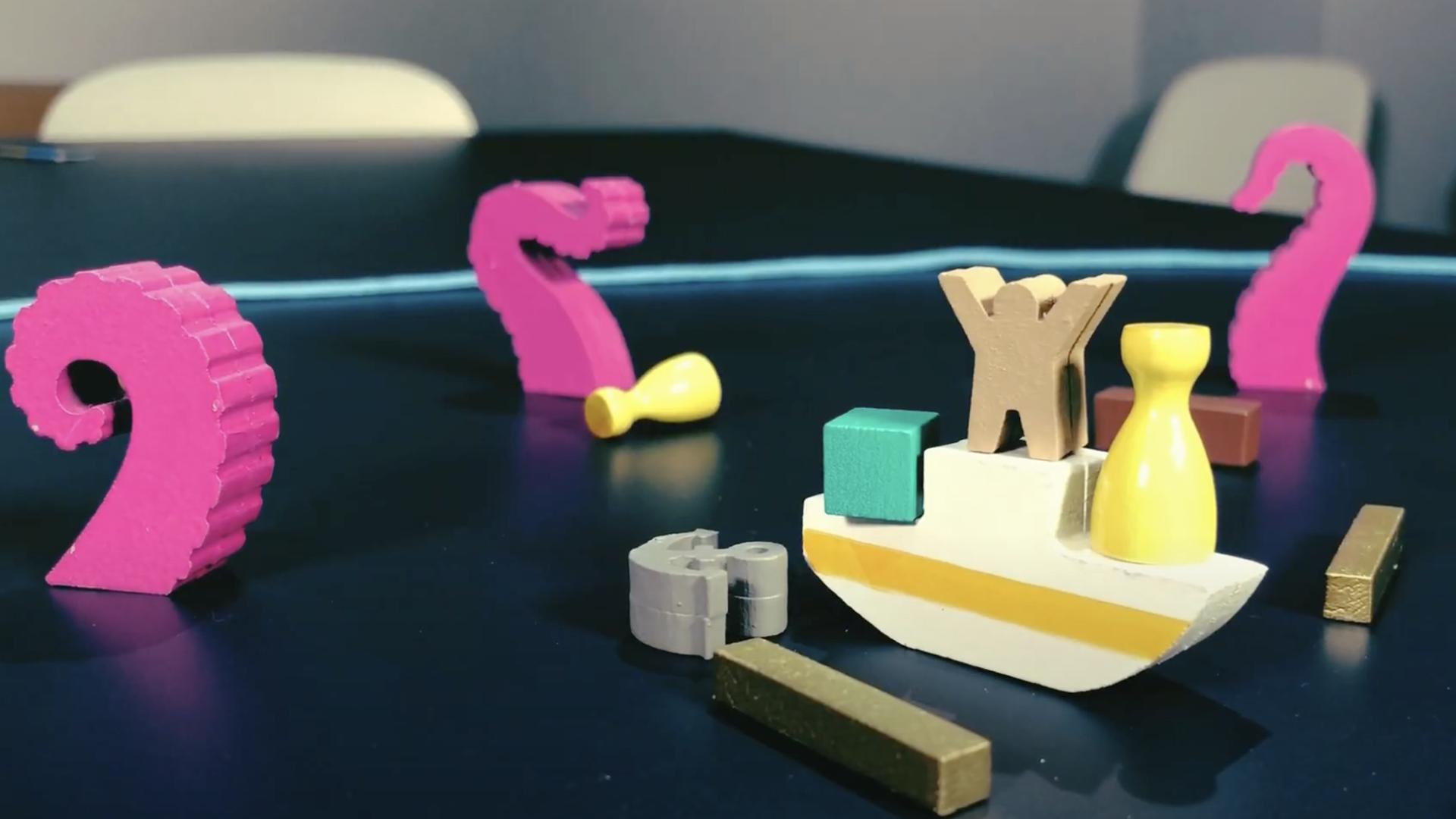 Crazy Octopus board game trailer screenshot