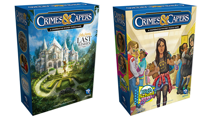 Crimes & Capers boxes