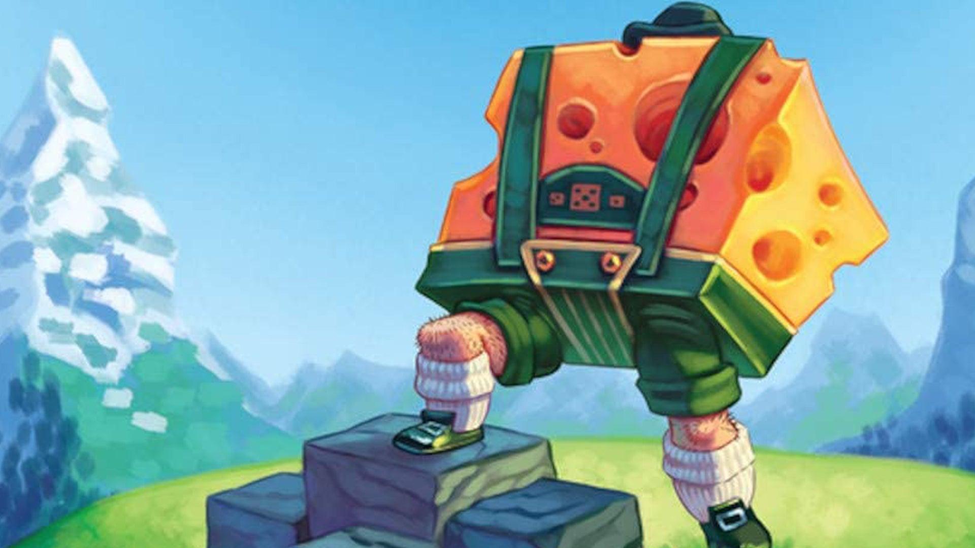 Cubitos board game artwork