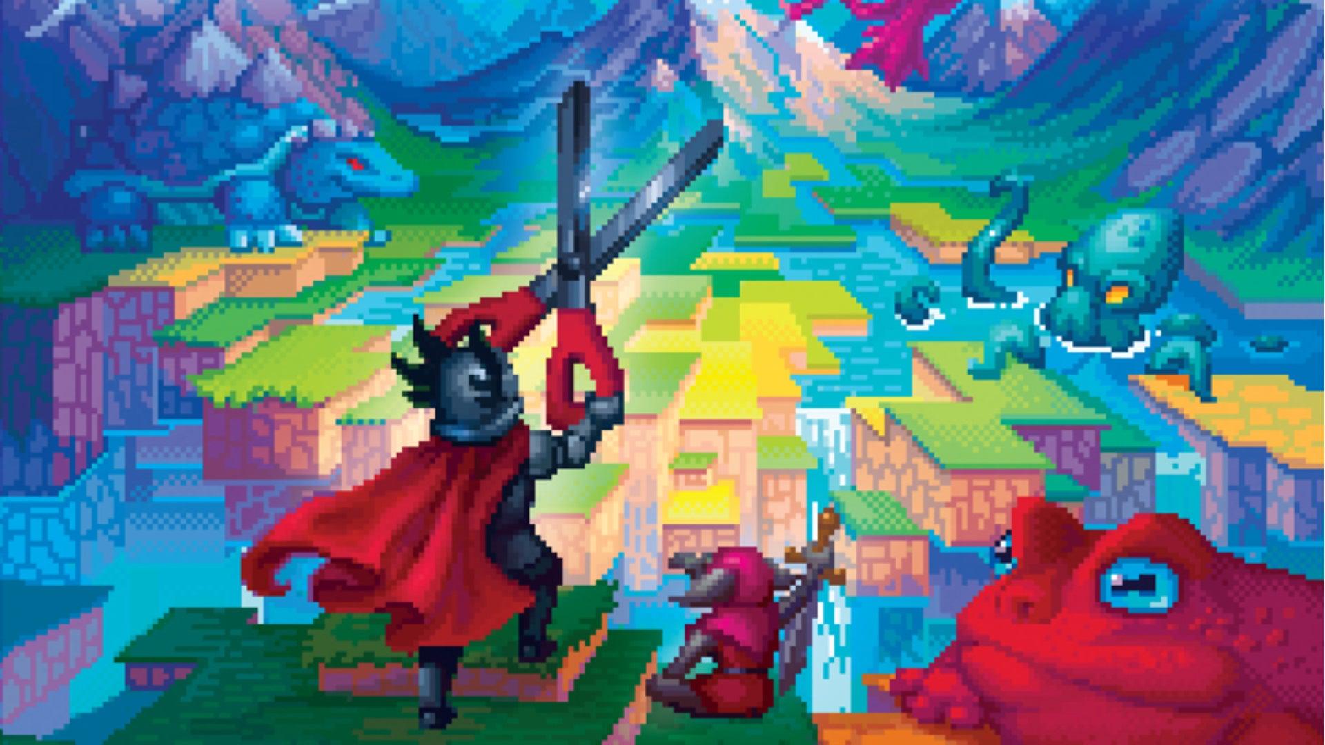 Cutterland board game artwork