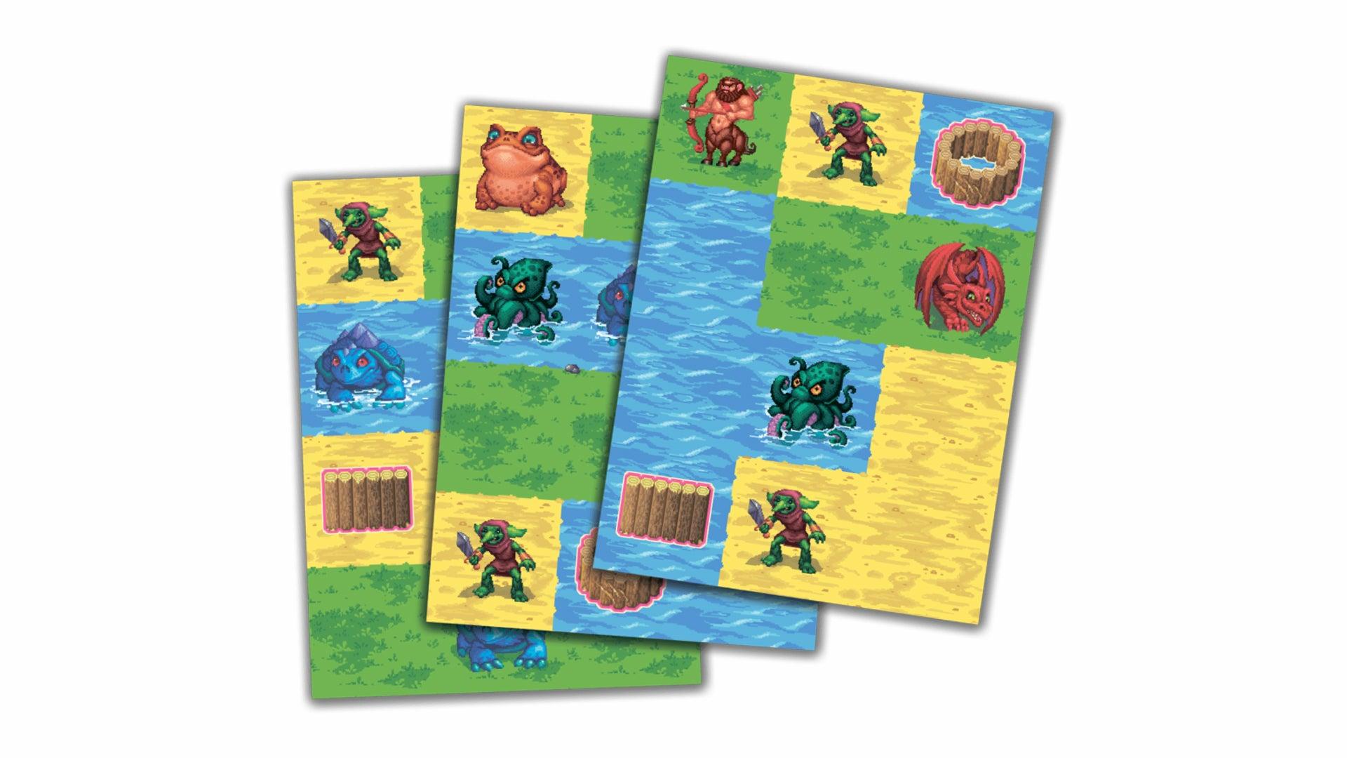 Cutterland board game cards