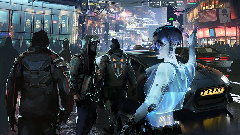 Cyberpunk Red RPG artwork