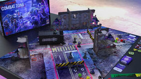 Image for Cyberpunk Red: Combat Zone turns the tabletop RPG into a beginner-friendly miniatures game