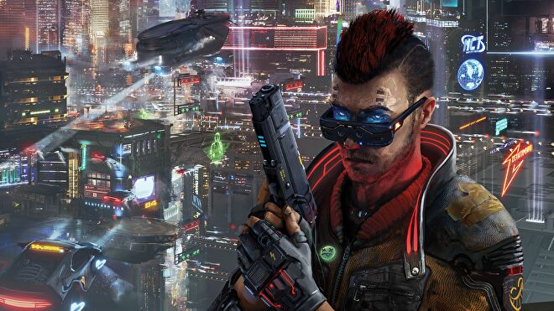 Cyberpunk Red RPG artwork
