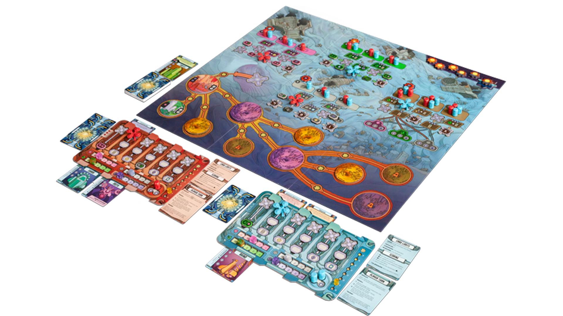 Cyro board game layout