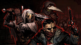 Darkest Dungeon video game artwork