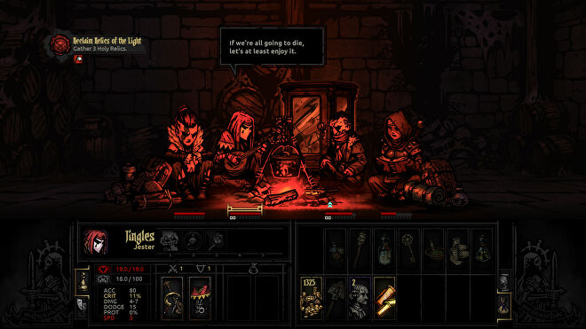 Darkest Dungeon video game screenshot 2