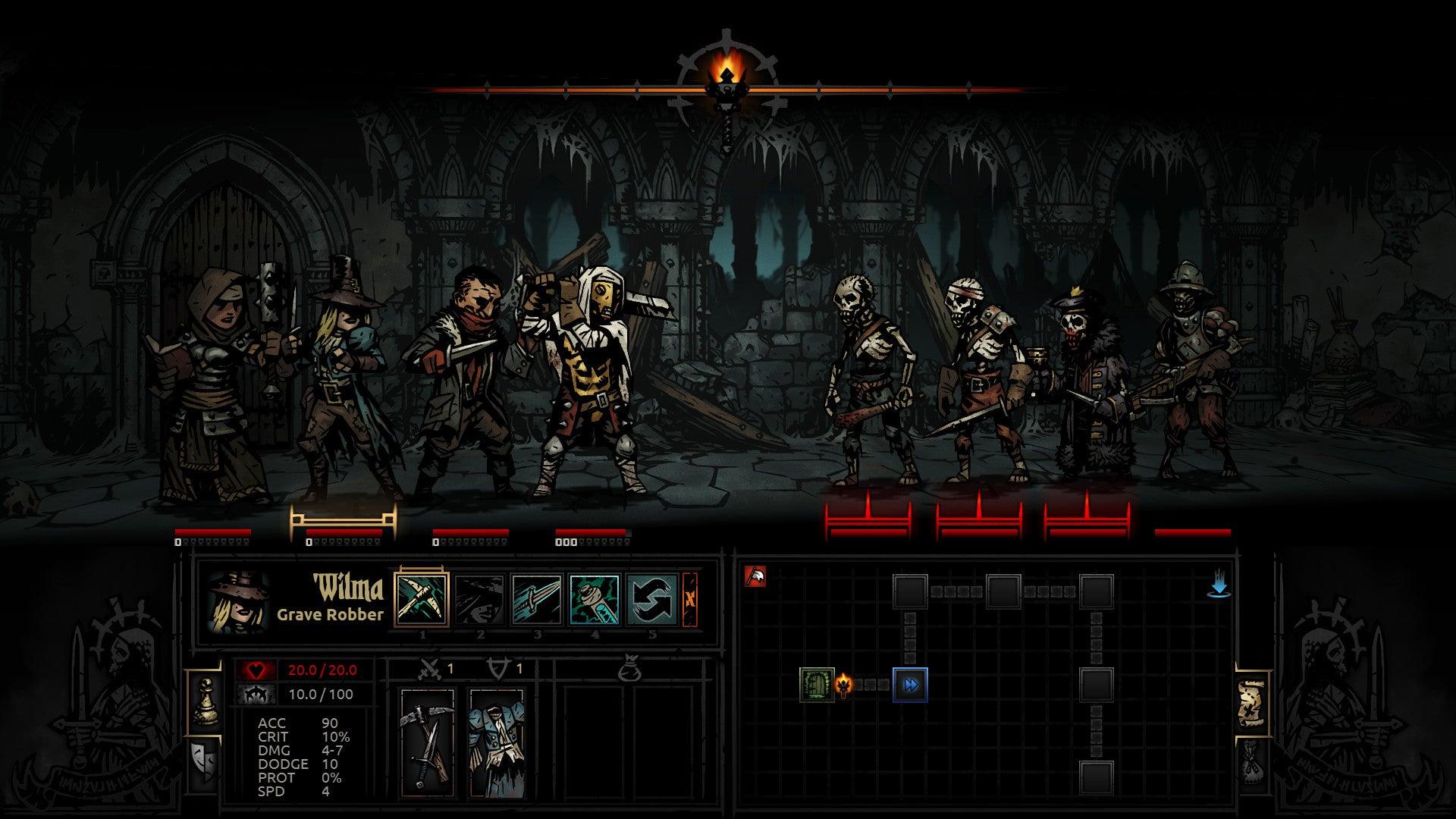 Darkest Dungeon video game screenshot 3