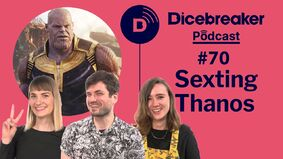 Image for We play the Board Game Thesaurus Game, check out the Avatar RPG and flirt with Thanos on the Dicebreaker Podcast