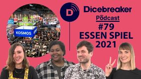 Image for What's new at the world's biggest board game convention? The Dicebreaker Podcast is at Essen Spiel 2021!