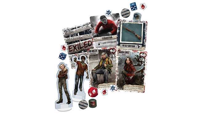 Dead of Winter components