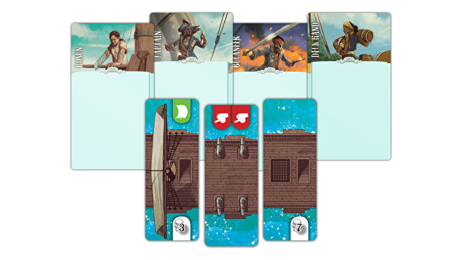 Dead Reckoning board game cards