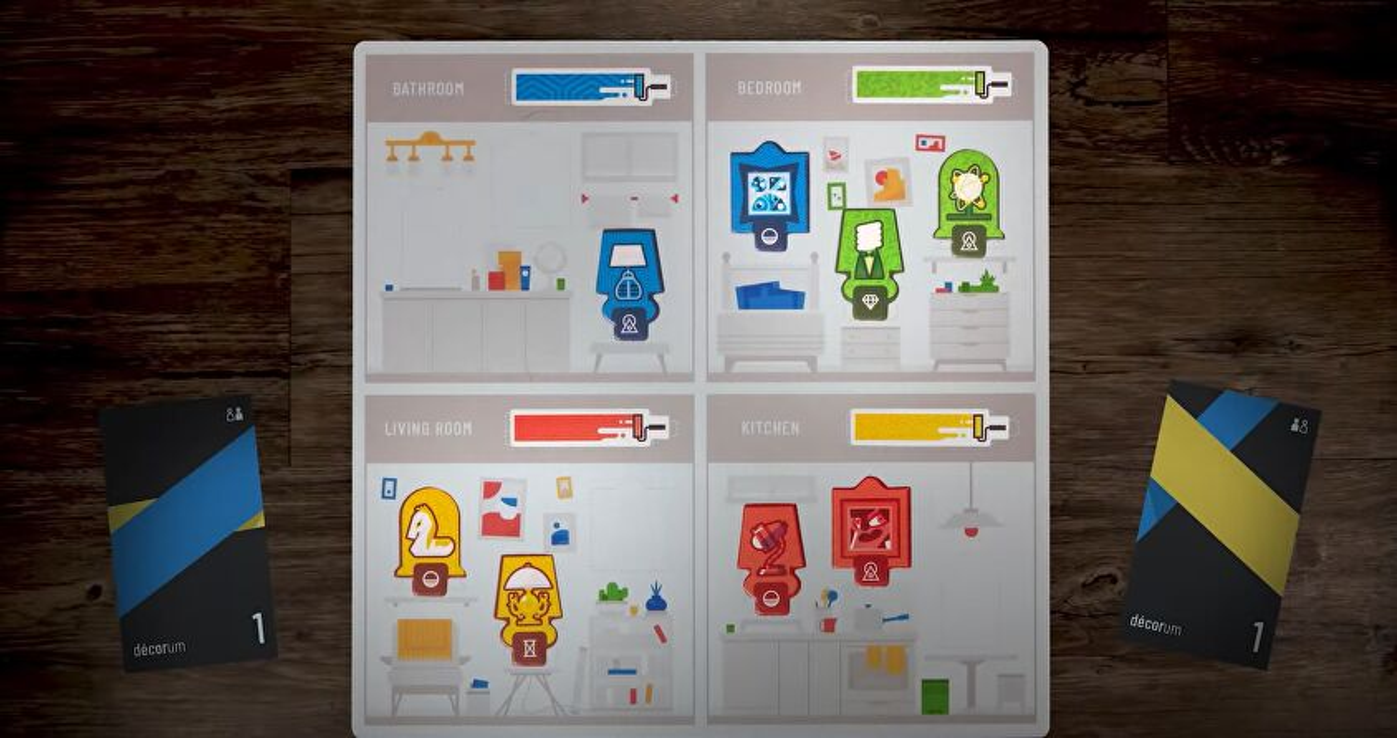 Decoram board game layout 2