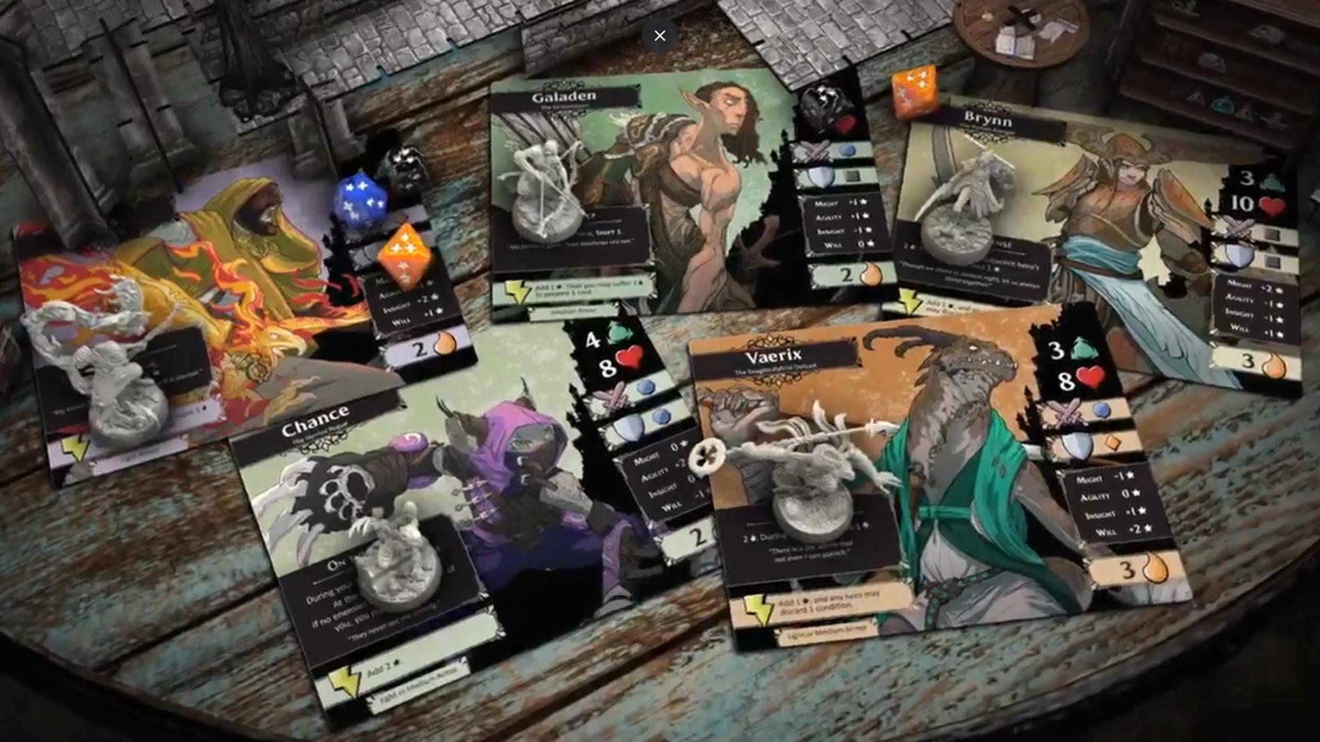 Descent: Legends of the Dark trailer screenshot