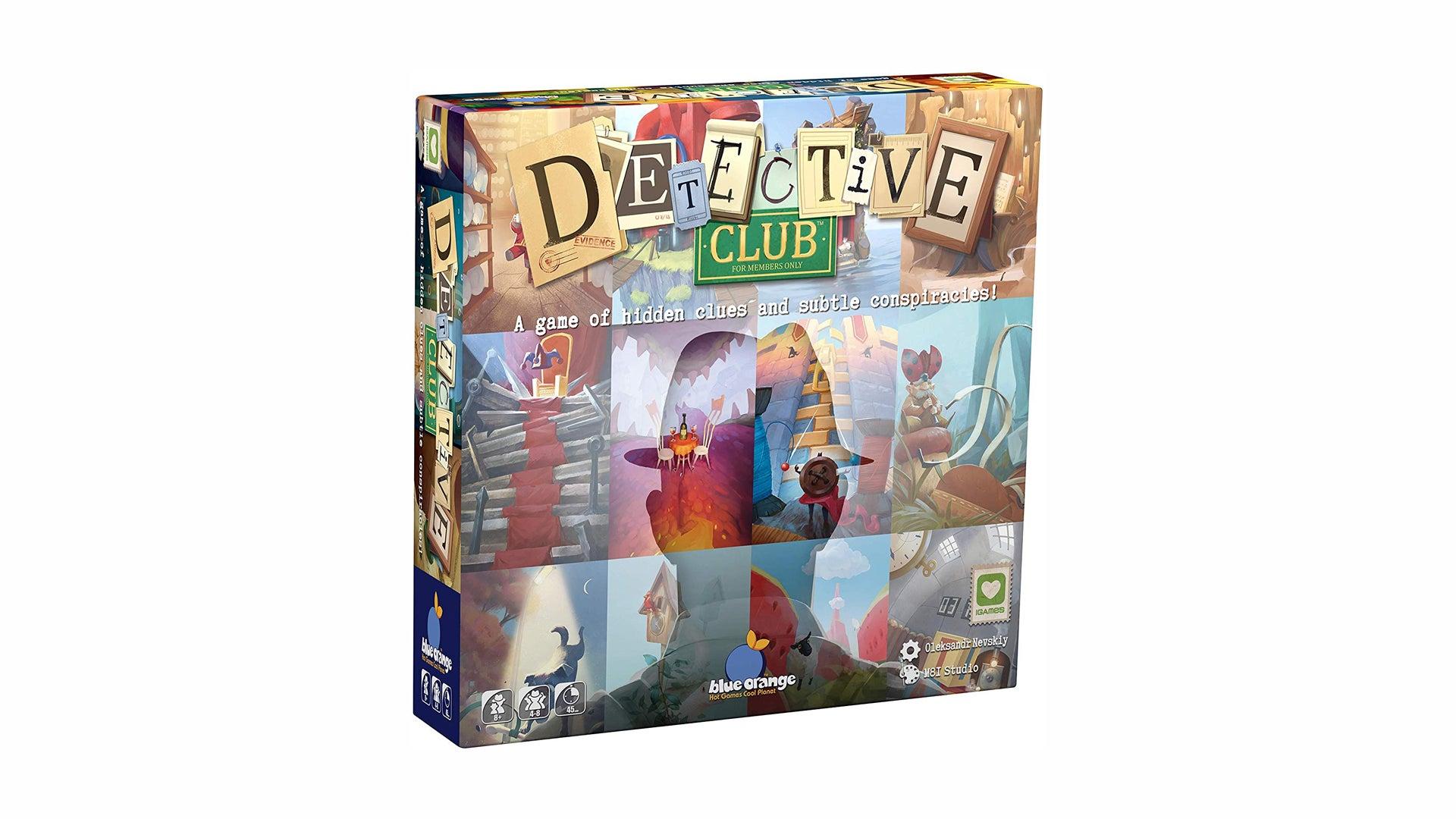 Detective Club board game box