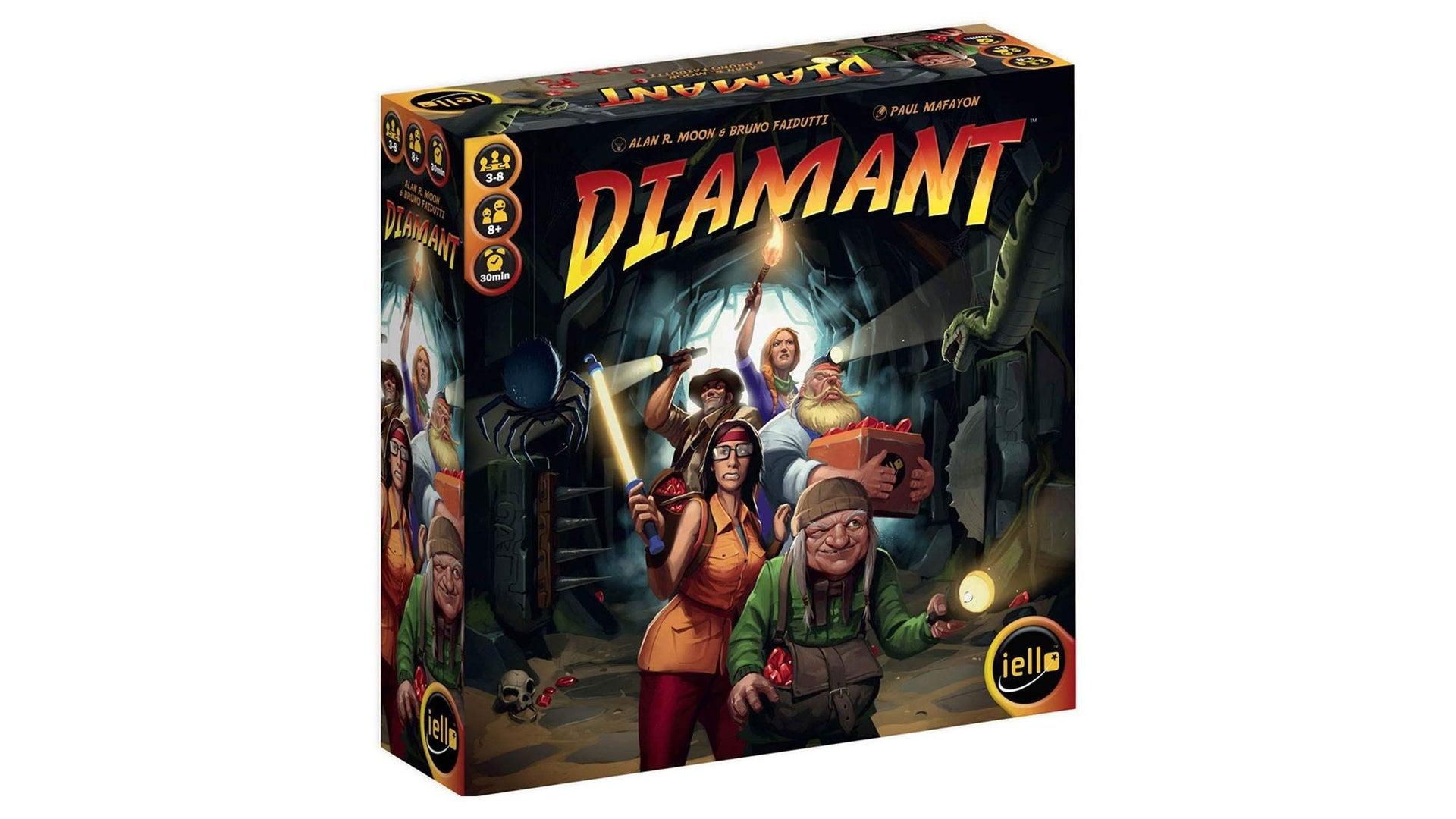 Diamant quick board game box