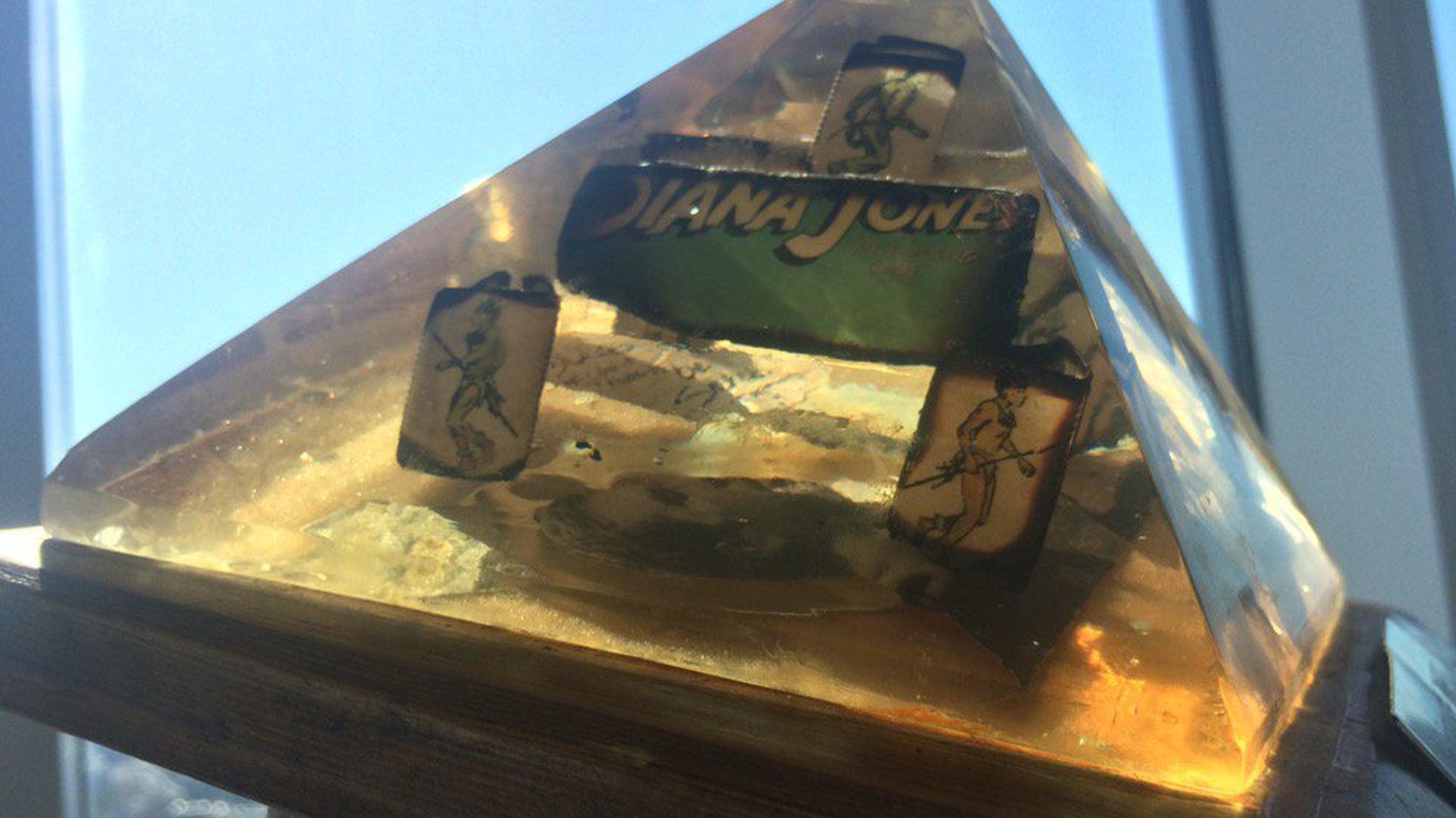 The Diana Jones Award trophy