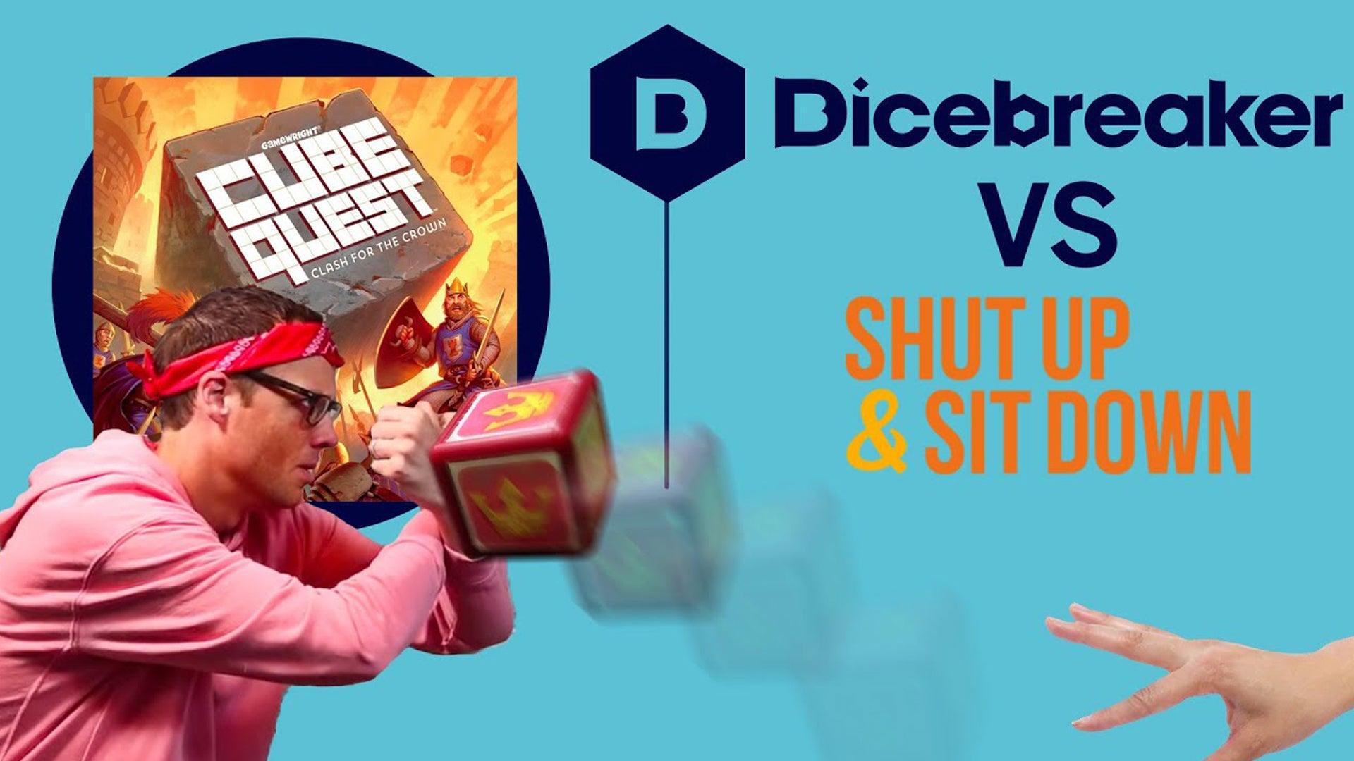 Dicebreaker vs Shut-up & Sit-Down at PAX Unplugged