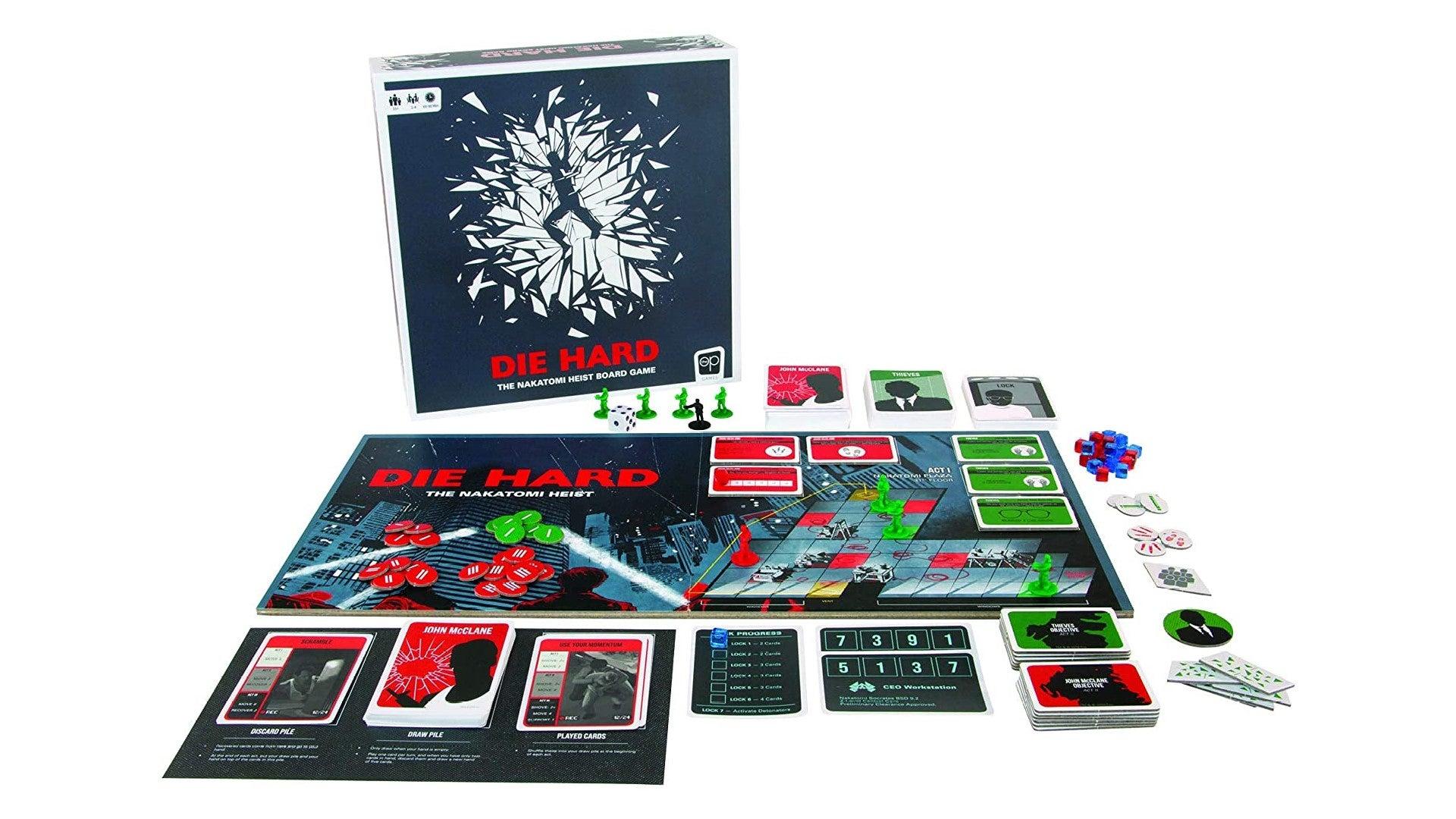 Die Hard Nakatomi heist best movie board game