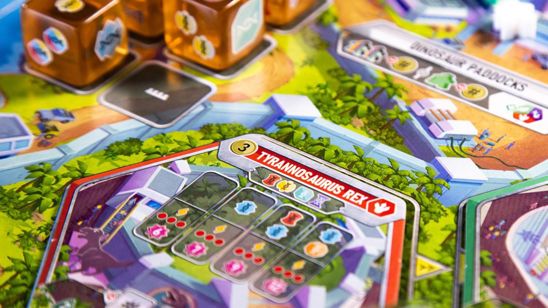 Dinosaur World board layout
