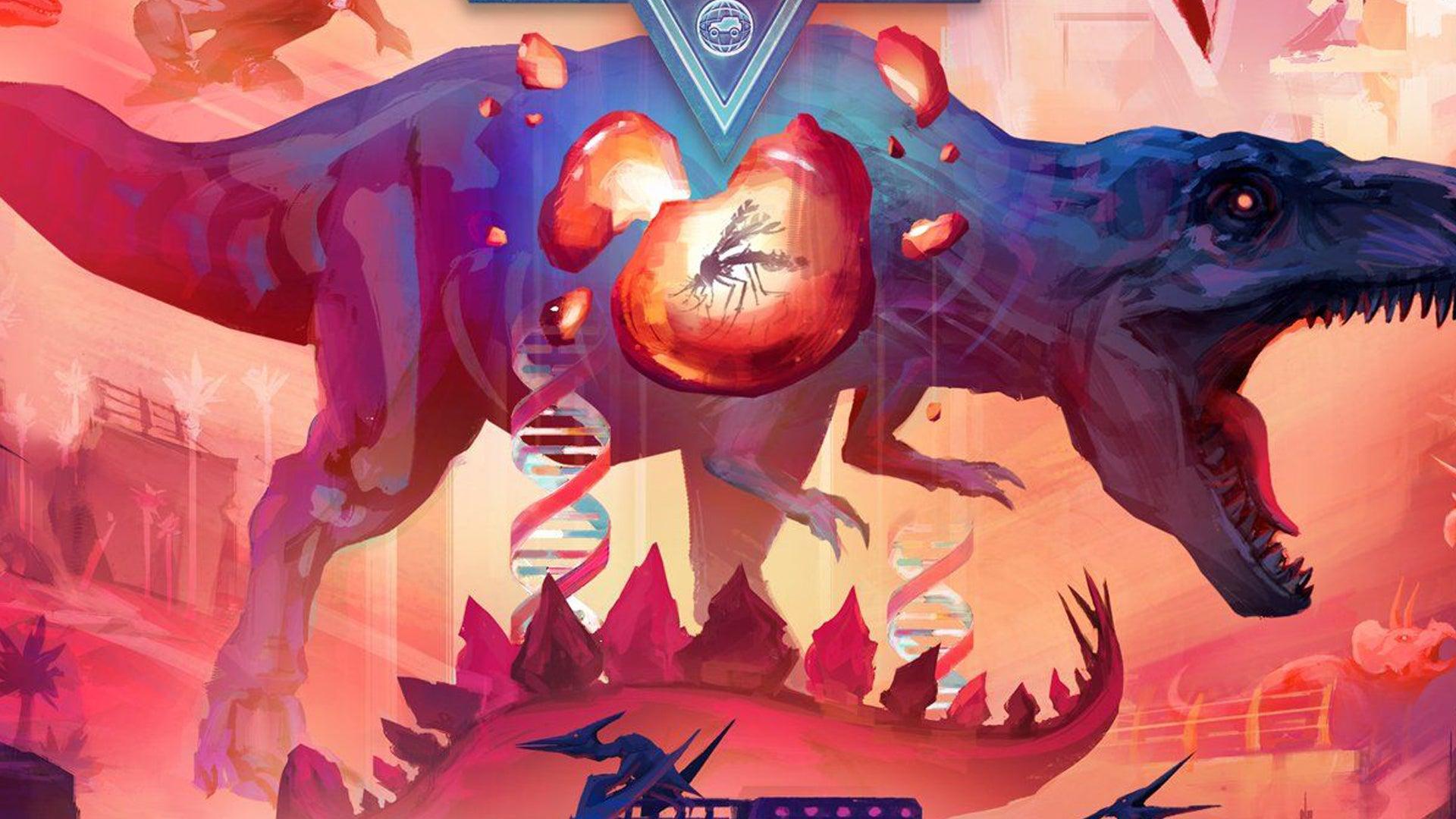 Dinosaur World board game artwork