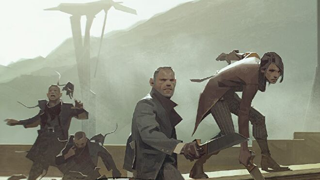 Dishonored roleplaying game artwork 5