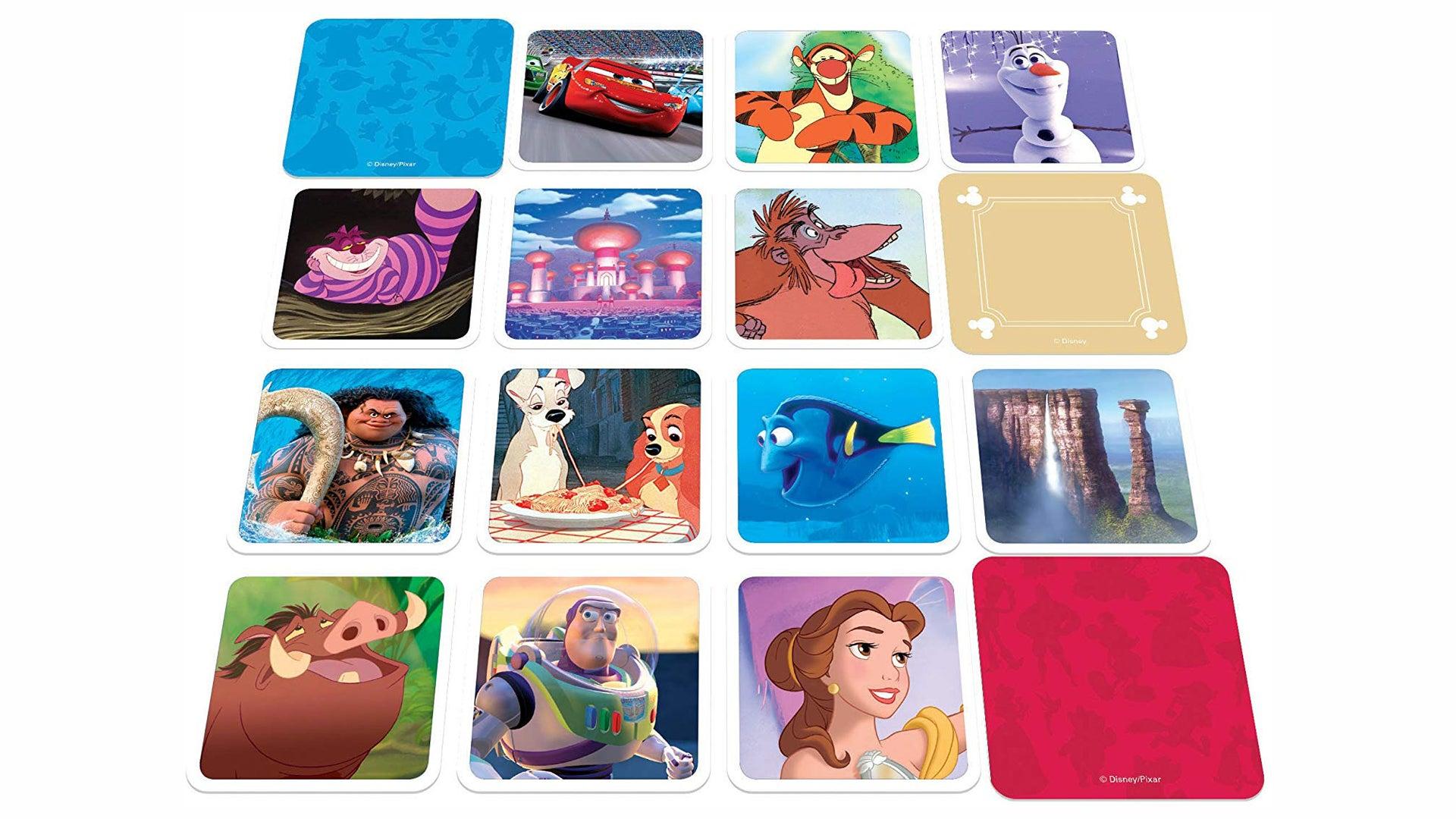 Disney Codenames board game cards