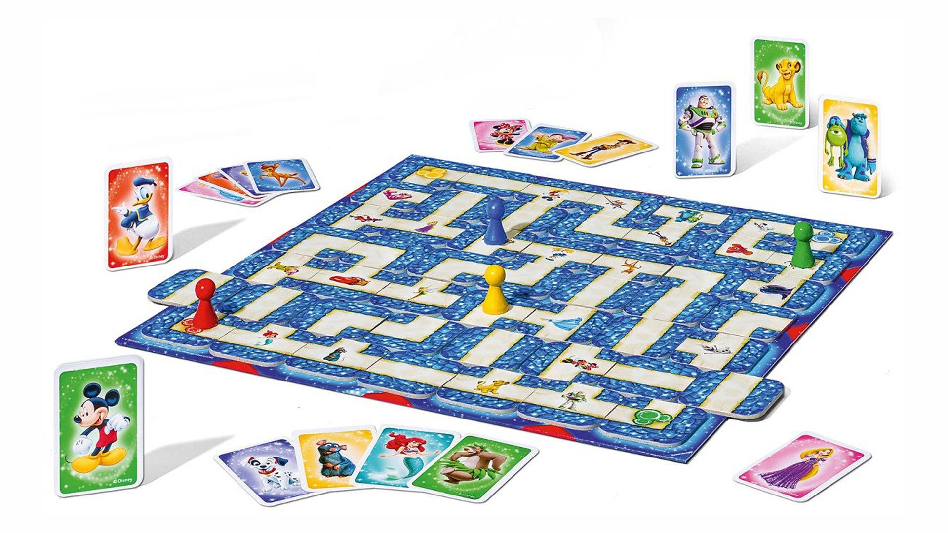 Disney Pixar Labyrinth board game layout