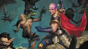 Image for New D&D 5E sourcebook starring Baldur's Gate characters Minsc and Boo gets a surprise release, only to vanish