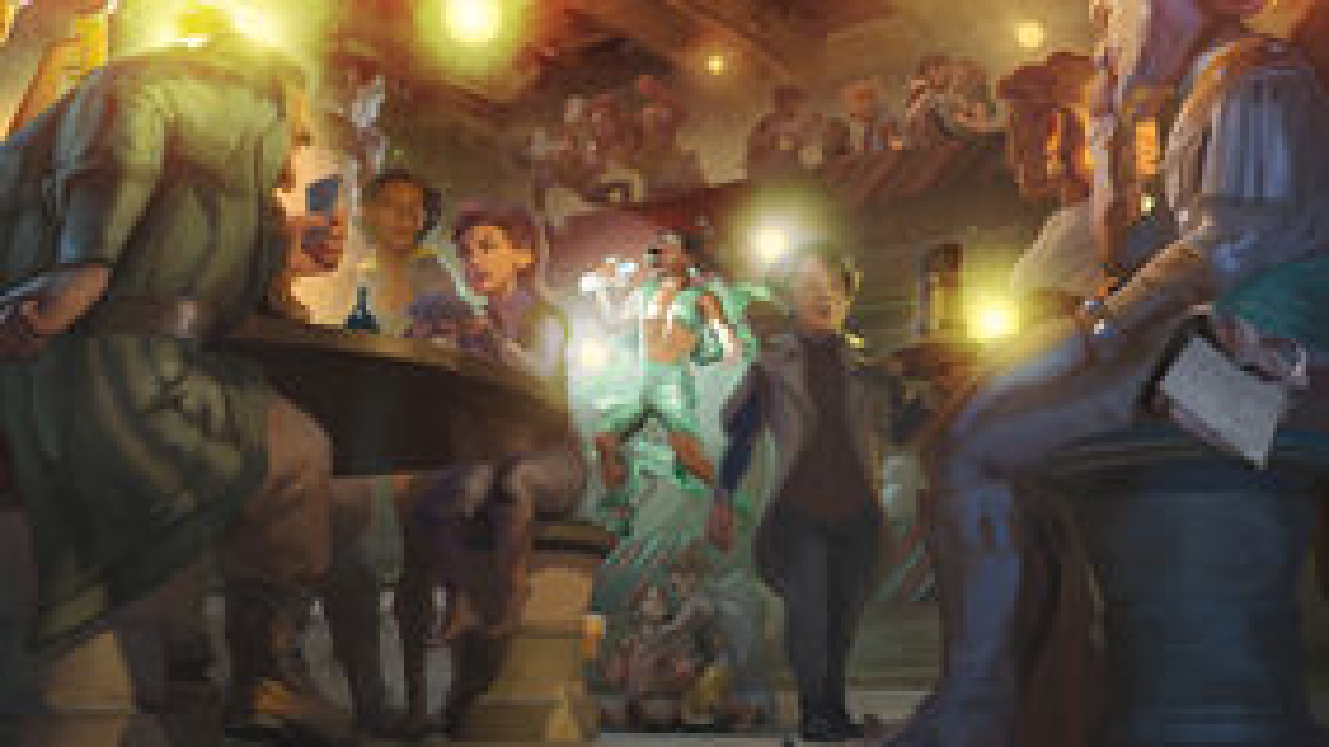 Dungeons & Dragons Eberron artwork landscape tavern