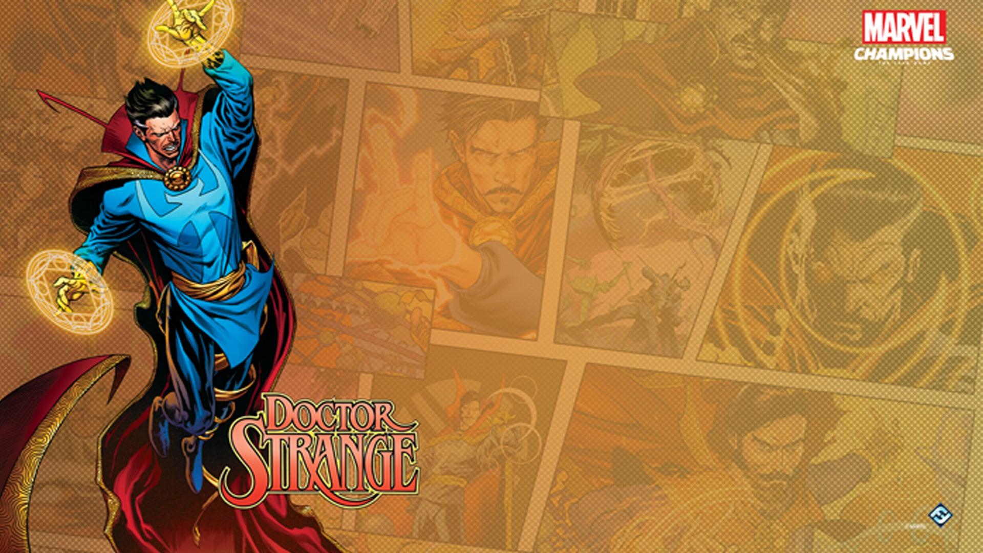 Doctor Strange Hero Pack Promo