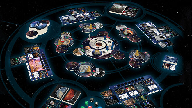 Doctor Who: Time of the Daleks board game layout