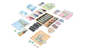 Dollars to Donut board game layout